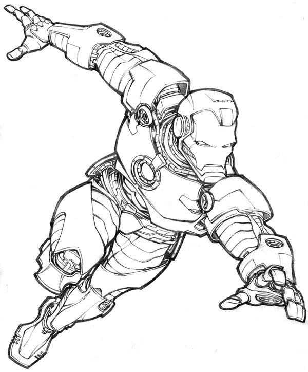 Iron Man Comic Drawing Ironman Draw Off due 5 31 archive